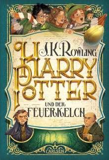J. K. Rowling: Harry Potter 4 und der Feuerkelch, Buch
