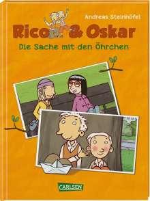Andreas Steinhöfel: Rico & Oskar (Kindercomic): Die Sache mit den Öhrchen, Buch