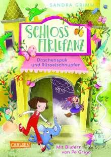 Sandra Grimm: Schloss Firlefanz 2: Drachenspuk und Rüsselschnupfen, Buch
