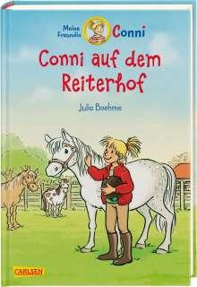 Julia Boehme: Conni auf dem Reiterhof (farbig illustriert), Buch
