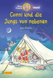 Julia Boehme: 9. Conni und die Jungs von nebenan (farbig illustriert), Buch