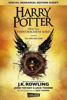 Joanne K. Rowling: Harry Potter und das verwunschene Kind. Teil eins und zwei (Special Rehearsal Edition Script), Buch