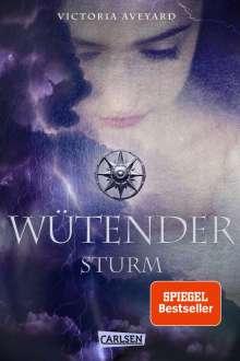 Victoria Aveyard: Wütender Sturm, Buch