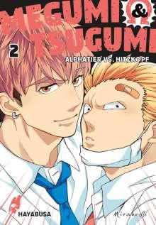 Mitsuru Si: Megumi & Tsugumi - Alphatier vs. Hitzkopf 2, Buch