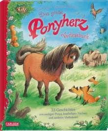 Usch Luhn: Das große Ponyherz-Vorlesebuch - 33 Geschichten von mutigen Ponys, kuscheligen Füchsen und anderen Vierbeinern, Buch