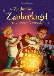 Stefan Gemmel: Im Zeichen der Zauberkugel 3: Der ägyptische Zankzauber, Buch