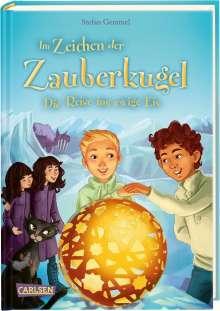 Stefan Gemmel: Im Zeichen der Zauberkugel 5: Die Reise ins ewige Eis, Buch