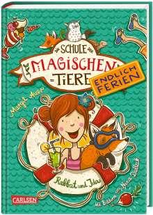 Margit Auer: Die Schule der magischen Tiere - Endlich Ferien, Band 1: Rabbat und Ida, Buch