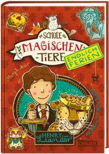 Margit Auer: Die Schule der magischen Tiere - Endlich Ferien 3: Henry und Leander, Buch