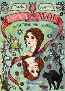 Tanja Voosen: Nova und Avon 1: Mein böser, böser Zwilling, Buch