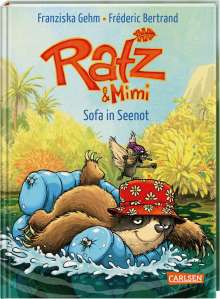 Franziska Gehm: Ratz und Mimi 2: Sofa in Seenot, Buch