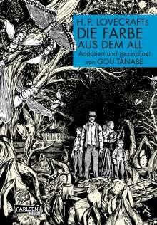 Gou Tanabe: H.P. Lovecrafts Die Farbe aus dem All, Buch