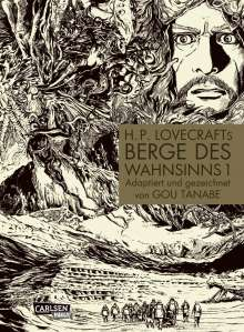 Gou Tanabe: H.P. Lovecrafts Berge des Wahnsinns 1, Buch