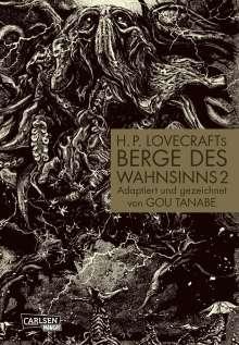 Gou Tanabe: H.P. Lovecrafts Berge des Wahnsinns 2, Buch