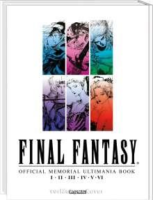 Final Fantasy - Official Memorial Ultimania: I II II IV V VI, Buch