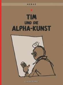 Herge: Tim und Struppi 24. Tim und die Alpha-Kunst, Buch