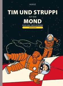 Hergé: Tim und Struppi: Tim und Struppi auf dem Mond, Buch