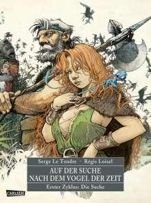 Serge Le Tendre: Auf der Suche nach dem Vogel der Zeit Gesamtausgabe 1, Buch