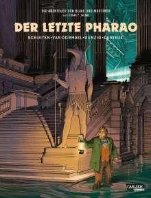 François Schuiten: Blake und Mortimer Spezial 1: Der letzte Pharao, Buch