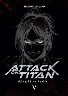 Hajime Isayama: Attack on Titan Deluxe 5, Buch