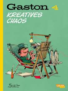 André Franquin: Gaston Neuedition 4: Kreatives Chaos, Buch