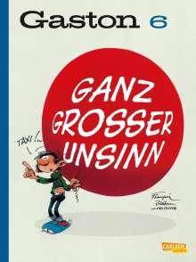 André Franquin: Gaston Neuedition 6: Ganz großer Unsinn, Buch