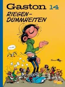 André Franquin: Gaston Neuedition 14: Riesendummheiten, Buch