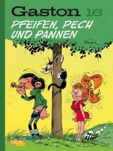 André Franquin: Gaston Neuedition 16: Pfeifen, Pech und Pannen, Buch