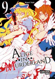 Kaori Yuki: Alice in Murderland 9, Buch