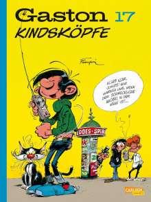 André Franquin: Gaston Neuedition 17: Kindsköpfe, Buch