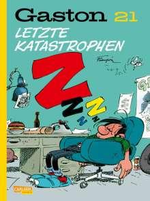 André Franquin: Gaston Neuedition 21: Letzte Katastrophen, Buch