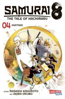 Masashi Kishimoto: Samurai8 4, Buch