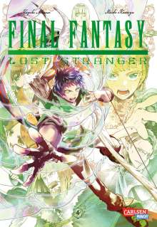 Hazuki Minase: Final Fantasy - Lost Stranger 4, Buch