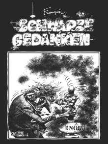 Andre Franquin: Schwarze Gedanken, Buch