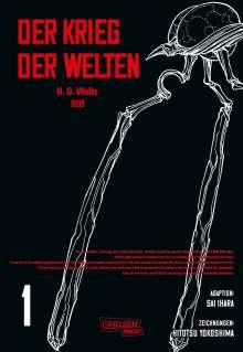 H. G. Wells: H.G. Wells - Der Krieg der Welten  1, Buch