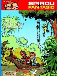 Andre. Franquin: Spirou und Fantasio 02. Eine aufregende Erbschaft, Buch