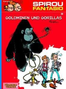 Andre Franquin: Spirou und Fantasio. Goldminen und Gorillas. (Bd. 9), Buch