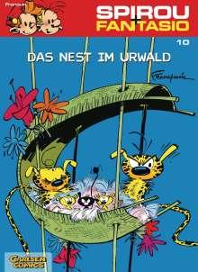 Andre. Franquin: Spirou und Fantasio 10. Das Nest im Urwald, Buch