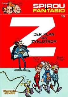Andre Franquin: Spirou und Fantasio 13. Der Plan des Zyklotrop, Buch