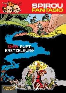 Andre Franquin: Spirou und Fantasio 16. QRN ruft Bretzelburg, Buch