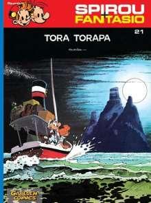 Andre. Franquin: Spirou und Fantasio 21. Tora Torapa, Buch