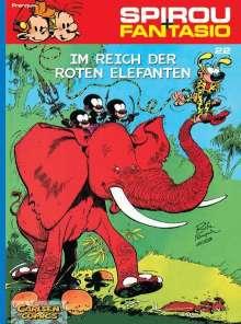 Andre. Franquin: Spirou und Fantasio 22. Im Reich der roten Elefanten, Buch