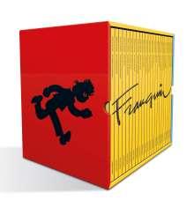 André Franquin: Spirou und Fantasio / Franquin-Schuber, Buch
