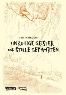 Jiro Taniguchi: Unruhige Geister und stille Gefährten, Buch