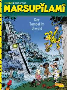 André Franquin: Marsupilami 23: Der Tempel im Urwald, Buch