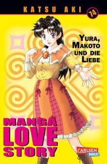 Katsu Aki: Manga Love Story 74, Buch