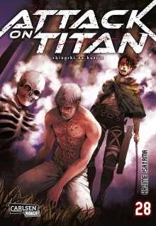 Hajime Isayama: Attack on Titan 28, Buch