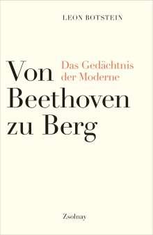 Leon Botstein: Von Beethoven zu Berg, Buch