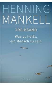 Henning Mankell (1948-2015): Treibsand, Buch