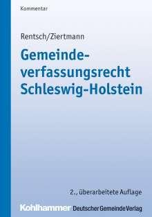 Harald Rentsch: Gemeindeverfassungsrecht Schleswig-Holstein, Buch